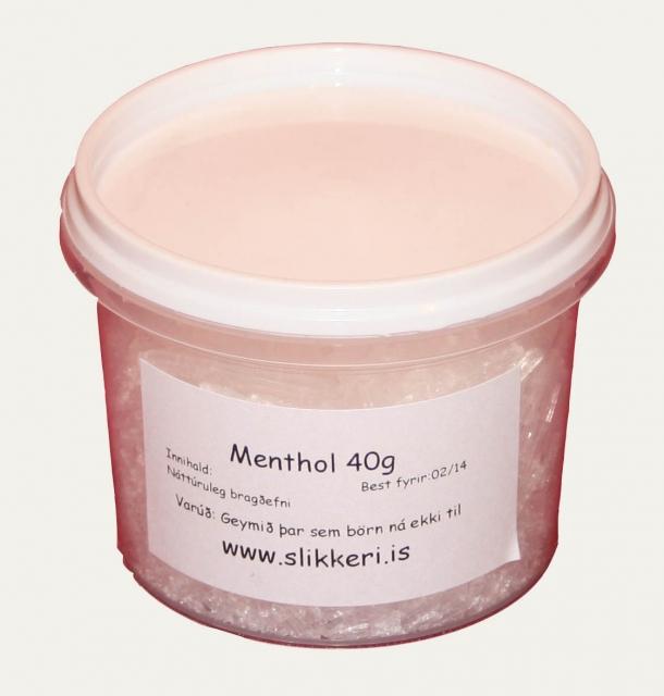 Menthol kristallar 40 g image
